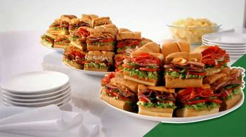Subway To Go TV Spot, 'Catering' - Thumbnail 5