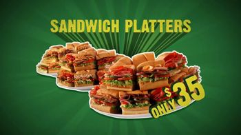 Subway To Go TV Spot, 'Catering' - Thumbnail 6