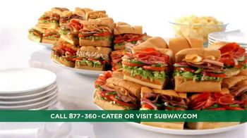 Subway To Go TV Spot, 'Catering' - Thumbnail 9
