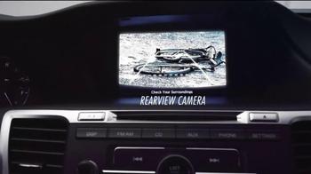 2014 Honda Accord TV Spot, 'Quarterback: No Blindside' - Thumbnail 5