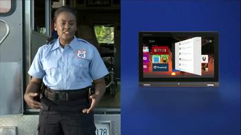 Lenovo Yoga 11S TV Spot, 'Paramedic' - Thumbnail 4
