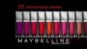 Maybelline New York Color Elixir Creamy Lip Lacquer TV Spot - Thumbnail 10