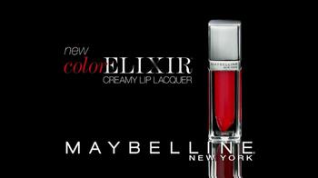Maybelline New York Color Elixir Creamy Lip Lacquer TV Spot - Thumbnail 3
