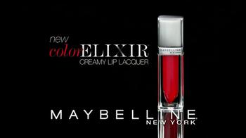 Maybelline New York Color Elixir Creamy Lip Lacquer TV Spot - Thumbnail 9