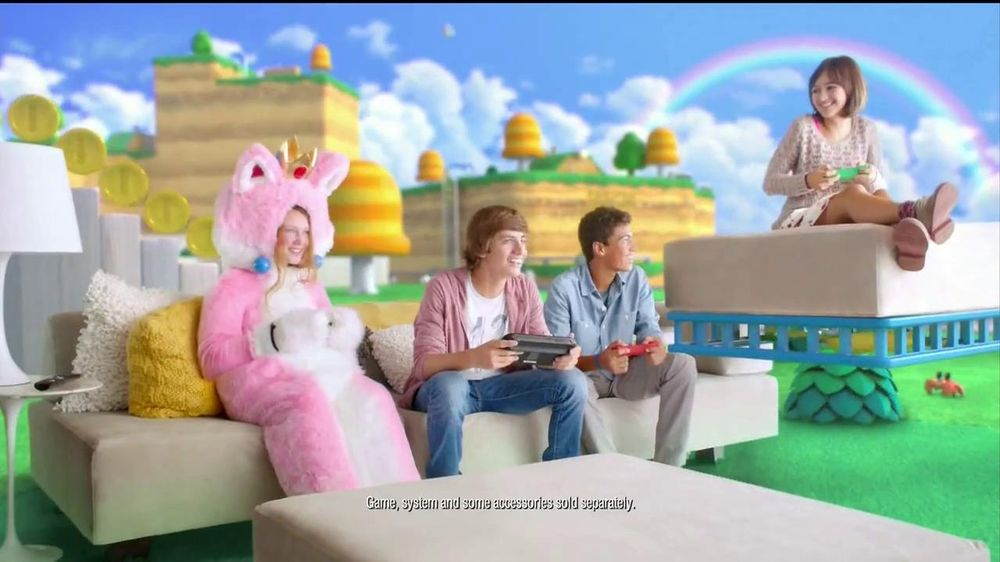 Super Mario 3D World TV Commercial, 'New Power-Ups' - Video