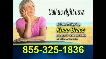Free Health Hotline TV Spot, 'Knee Brace' - Thumbnail 10