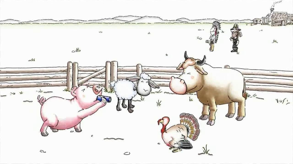 Red Bull Christmas Commercial 2020 Red Bull TV Commercial, 'The Story of Thanksgiving'   iSpot.tv