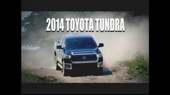 2014 Toyota Tundra TV Spot, 'More Truck Than You'll Ever Need' - Thumbnail 8