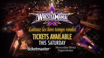 Wrestlemania in New Orleans TV Spot, 'Laissez Les Bon Temps Roulez' - Thumbnail 10