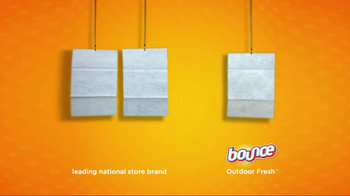 Bounce Outdoor Fresh TV Spot, 'Comparison' - Thumbnail 3