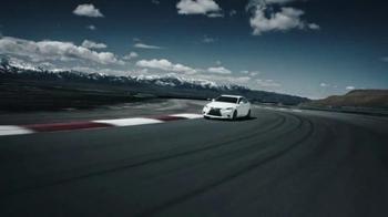Lexus IS F Sport TV Spot, 'Track Honed' - Thumbnail 6