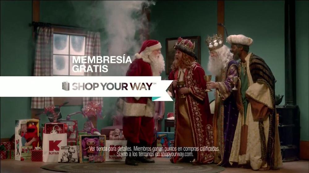 Kmart Tv Commercial Santa Vs Los Reyes Ispot Tv