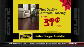 Lumber Liquidators Holiday Flooring Sale TV Spot - Thumbnail 4