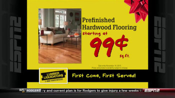 Lumber Liquidators Holiday Flooring Sale TV Spot - Thumbnail 6