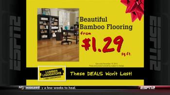 Lumber Liquidators Holiday Flooring Sale TV Spot - Thumbnail 8