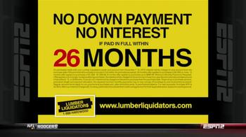 Lumber Liquidators Holiday Flooring Sale TV Spot - Thumbnail 9