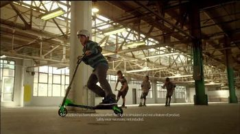 Yvolution Fliker Scooters TV Spot, 'Warehouse Tricks'