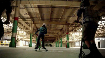 Yvolution Fliker Scooters TV Spot, 'Warehouse Tricks' - Thumbnail 1