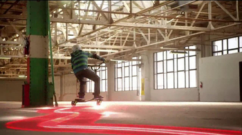 Yvolution Fliker Scooters TV Spot, 'Warehouse Tricks' - Thumbnail 6
