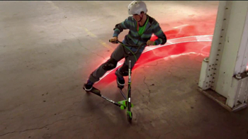 Yvolution Fliker Scooters TV Spot, 'Warehouse Tricks' - Thumbnail 7