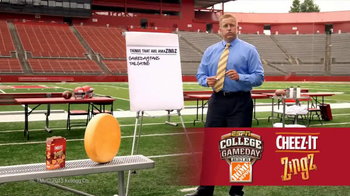 Cheez-It Zingz TV Spot, 'College Gameday: AmaZINGS' Feat. Kirk Herbstreit - 13 commercial airings