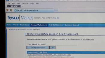Sysco TV Spot, 'NYSE' - Thumbnail 7
