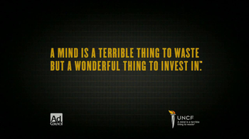 UNCF TV Spot, 'Invest in the Future' - Thumbnail 10