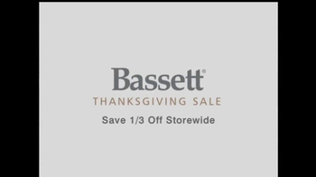 Bassett 2013 Thanksgiving Sale TV Spot - Thumbnail 2