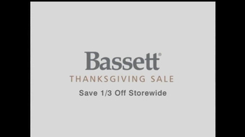 Bassett 2013 Thanksgiving Sale TV Spot - Thumbnail 3