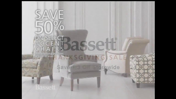 Bassett 2013 Thanksgiving Sale TV Spot - Thumbnail 4