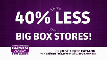 Cabinets To Go TV Spot, 'Additional 20% Off' - Thumbnail 2