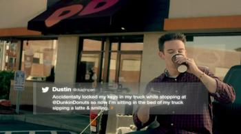 Dunkin' Donuts TV Spot, 'Keys in Car' - Thumbnail 7