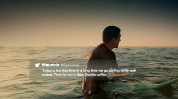 Dunkin' Donuts TV Spot, 'Surfing' - 353 commercial airings