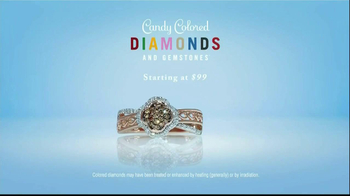 Zales Candy Colored Diamonds TV Spot, 'Fireflies' Song Amy Stroup - Thumbnail 9