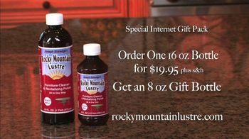 Rocky Mountain Lustre Furniture Cleaning and Revitalizing Polish TV Spot - Thumbnail 9