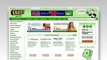 Ebates TV Spot, '$10 Bonus' - Thumbnail 5