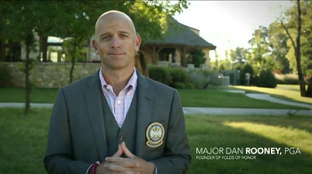Folds of Honor Foundation TV Spot Featuring Corey Pavin - Thumbnail 9