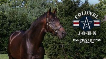 Winstar Farm, LLC TV Spot, 'Colonel John'