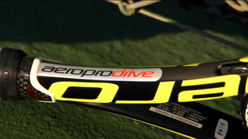 Tennis Warehouse Aeropro Drive TV Spot Featuring Rafael Nadal