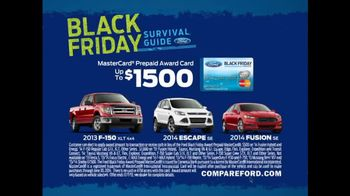 Black Friday Survival Guide TV Spot, 'Holiday Chaos' Featuring Mike Rowe - 332 commercial airings