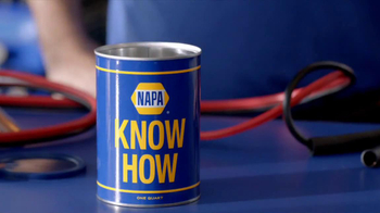 NAPA The Legend Batteries TV Spot, 'Know How: Hook Me Up'