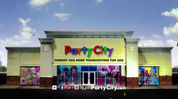 Party City TV Spot, 'A Little Thanksgiving in My Life' - Thumbnail 10