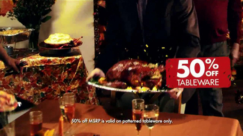 Party City TV Spot, 'A Little Thanksgiving in My Life' - Thumbnail 4