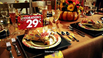 Party City TV Spot, 'A Little Thanksgiving in My Life' - Thumbnail 5