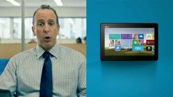 Microsoft Tablets TV Spot, 'New Windows: Accountant' Song by Sara Bareilles