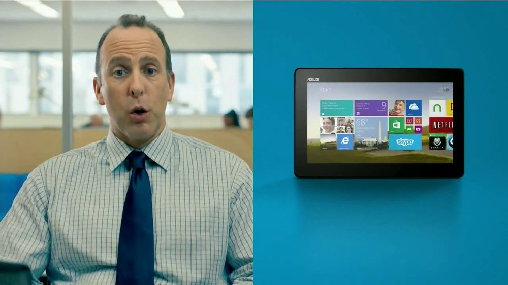 Microsoft Tablets TV Commercial, 'New Windows: Accountant' Song by Sara Bareilles