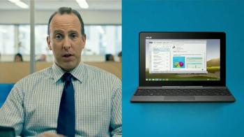 Microsoft Tablets TV Spot, 'New Windows: Accountant' Song by Sara Bareilles - Thumbnail 5