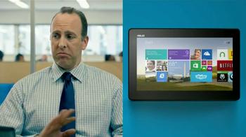 Microsoft Tablets TV Spot, 'New Windows: Accountant' Song by Sara Bareilles - Thumbnail 8