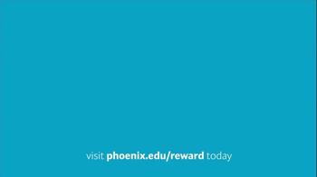 University of Phoenix Scholarship Reward Program TV Spot - Thumbnail 1