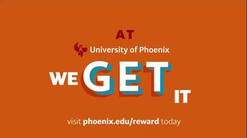 University of Phoenix Scholarship Reward Program TV Spot - Thumbnail 4